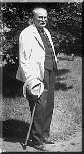 Profesor Władysław Szafer, inicjator powołania Parku